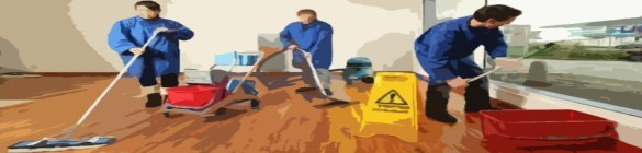 Hygiène des locaux - Nettoyage des cuisines, des sols et extérieur
