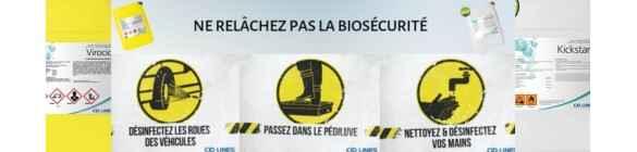 Nécessaire de biosécurité pour vos bâtiments d'élevage